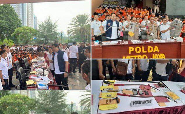 TOP! Aksi Polisi Amankan Natal dan Tahun Baru Jalankan Instruksi Jokowi