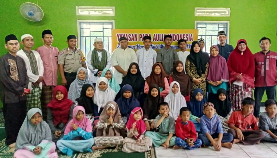 Yayasan Para Aulia Indonesia, Acara Maulid : Menjalin Ukhuwah, Cinta Rasulullah & Mencintai Yatim & Dhuafa
