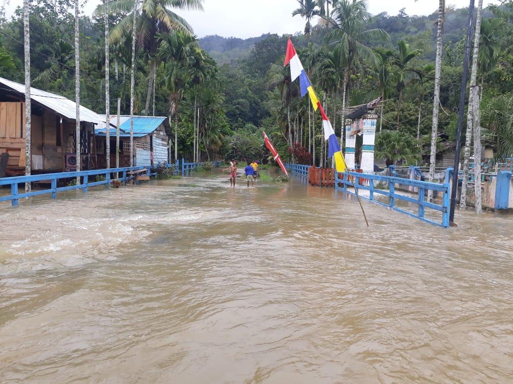 Banjir di Teluk Bintuni Papua Barat