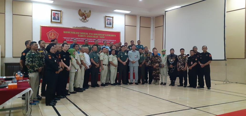Kogartap I / Jakarta Gelar Komunikasi Sosial dengan Komponen Bangsa