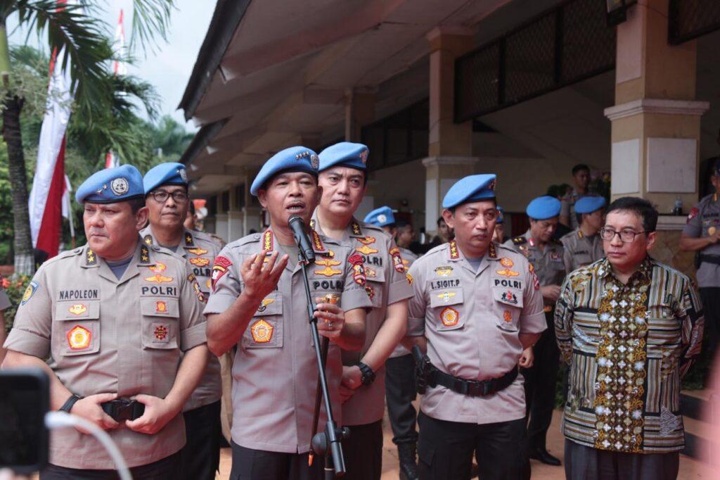 Kapolri Pimpin Pembaretan Kontingen Satgas Misi Perdamaian PBB