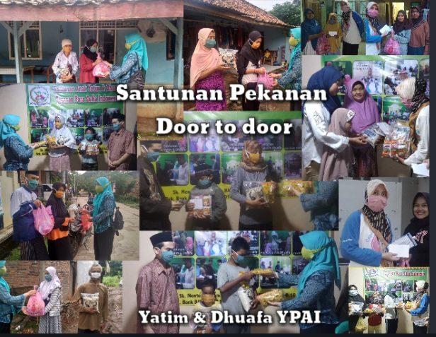 Anak Yatim dan Dhuafa di Lingkungan Desa Ciledug Setu Kab Bekasi dapat bantuan Yayasan Para Aulia Indonesia