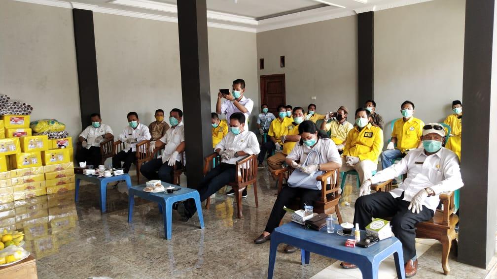 TEC Gelar Reses, Sekaligus Berikan Puluhan Ribu Masker dan Hand Sanitizer.