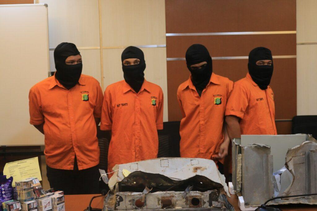 Polri Ungkap Tindak Pidana Pencurian Spesialis Mini Market Alfa Mart