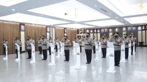 Kapolri Resmi Lantik 9 Perwira Tinggi Polri Sebagai kapolda Dan Pejabat Utama Korps Bhayangkara.