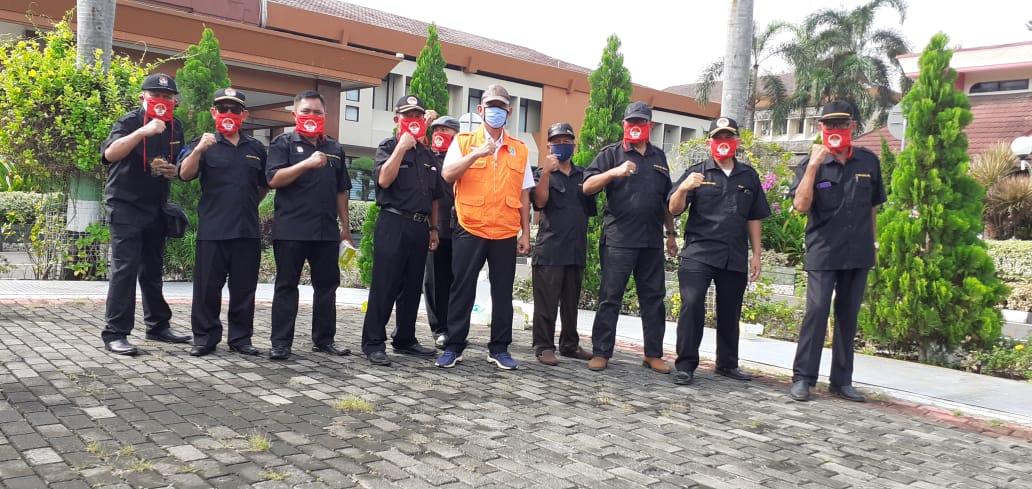 FKDM Kota Bekasi Ikut Amankan Kunjungan Presiden Jokowi