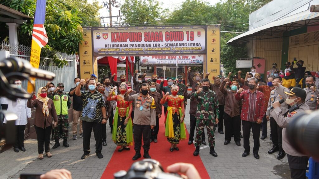 Kapolda Jateng : 878 Kampung Siaga Minggu berdiri di Jateng