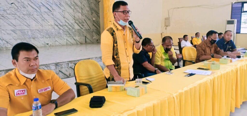 Gelar Rapat Pleno, Ketua AMPG Lampung Arpozi Alam Fokuskan Konsolidasi di Daerah Yang Laksanakan Pilkada 2020