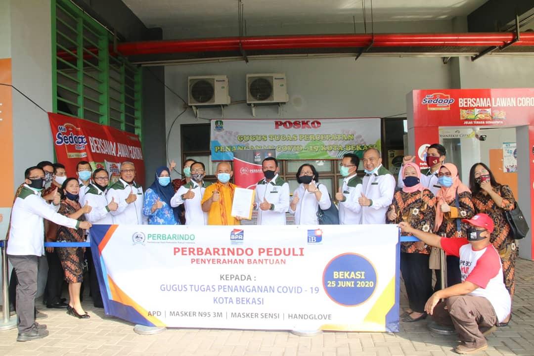 Perbarindo Kirimkan Bantuan Kesehatan ke Kota Bekasi