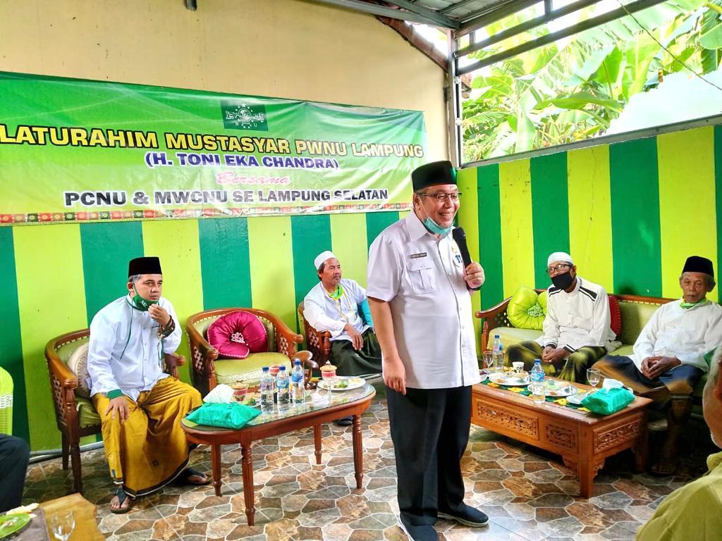 TEC Kembali Silaturahmi Ke PCNU dan MWCNU Se-Lamsel