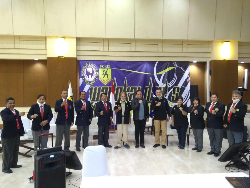 Ketua BPK Agung Firman Sampurna Buka Kejurnas Karate Wadokai Ke-50