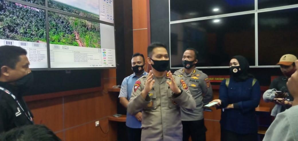 Antisipasi Karhutla, Polda Jambi pasang 30 cctv 'asap digital'