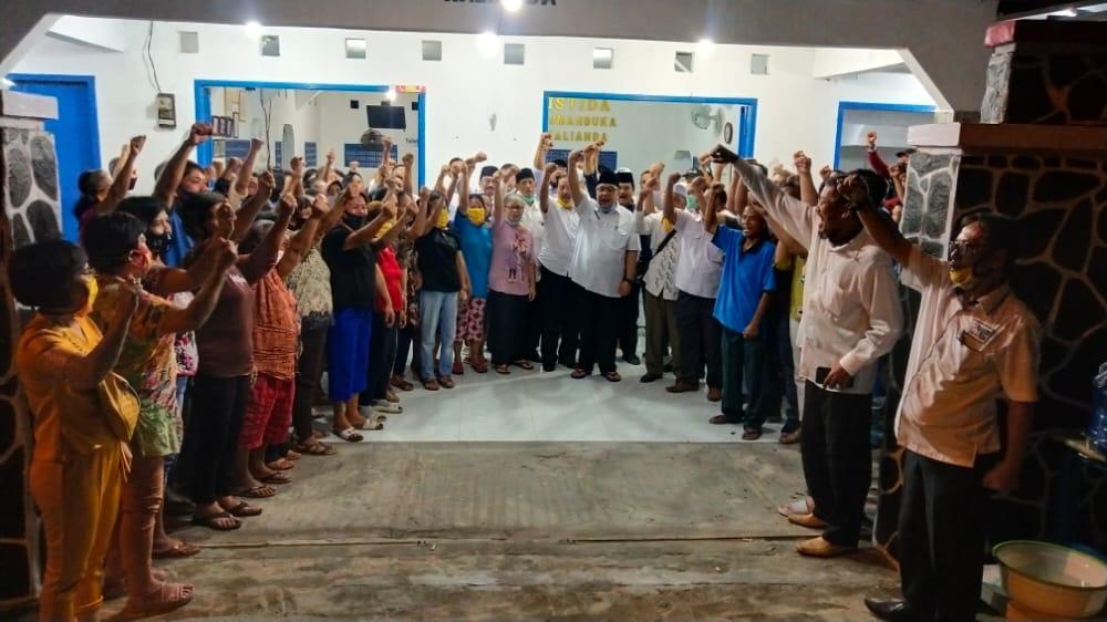 TEC Gelar Silaturahmi Bersama Umat Kristiani, Pengusaha Online, dan Perwakilan Pedagang Pasar Kalianda.