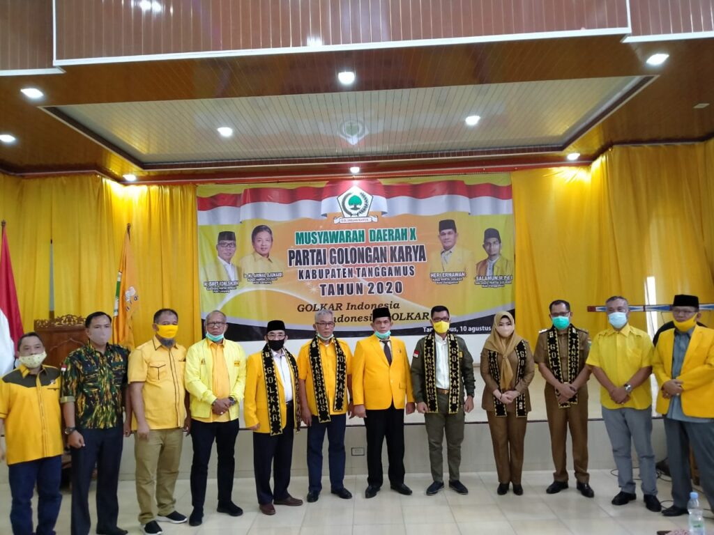 AMPG Lampung Kawal Musda X Golkar Tanggamus