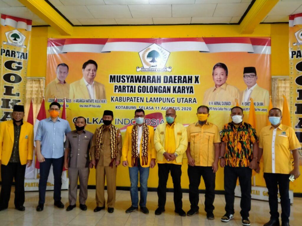 AMPG Lampung Kawal Musda Ke-X Golkar Lampung Utara