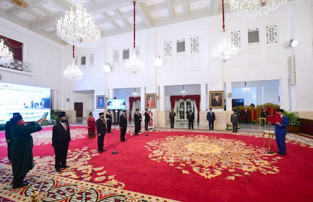 Mendagri Resmi Dilantik Sebagai Wakil Ketua Kompolnas