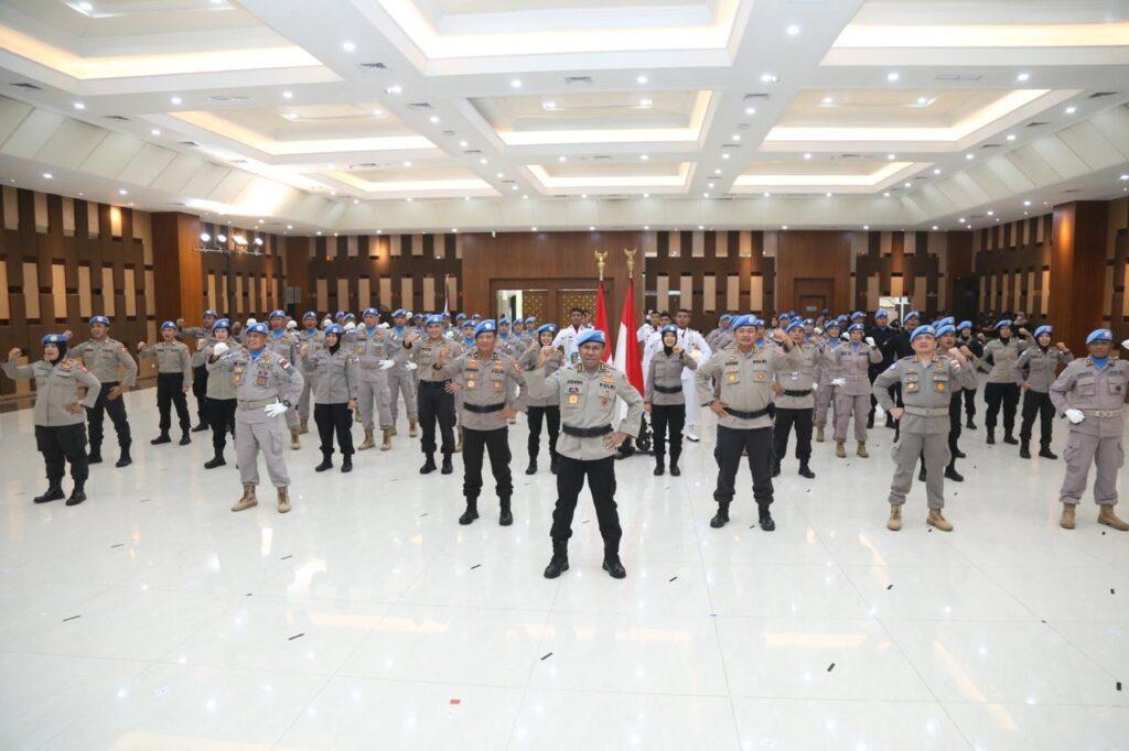Kapolri Lepas Satgas Garuda Bhayangkara Misi Perdamaian Dunia, ke Sudan dan Afrika Tengah