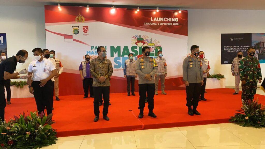 Polda Metro Jaya Adakan Kegiatan Pembagian 250.000 Masker Kain