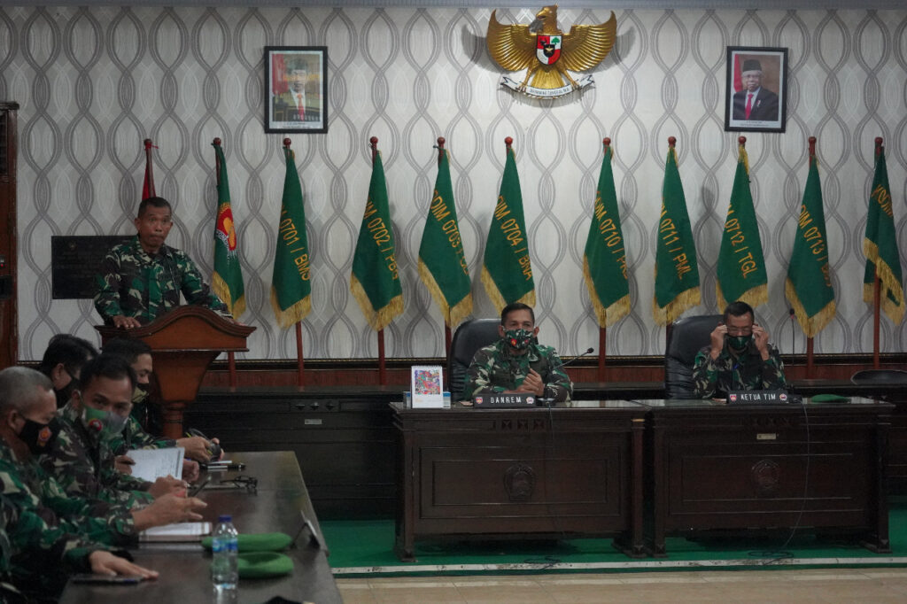 Tim Dalprog Kodam IV/Diponegoro Kunjungi Korem 071/Wijayakusuma