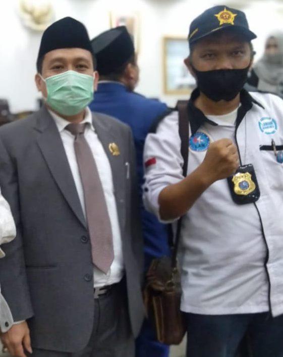 Terimakasih Ketua, Aspirasi LAN Kab Bekasi Masuk Dalam Raperda Penyakit Sosial Masyarakat