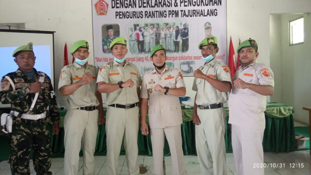 Deklarasi dan Pengukuhan Pengurus PPM Ranting Tajur Halang Bogor