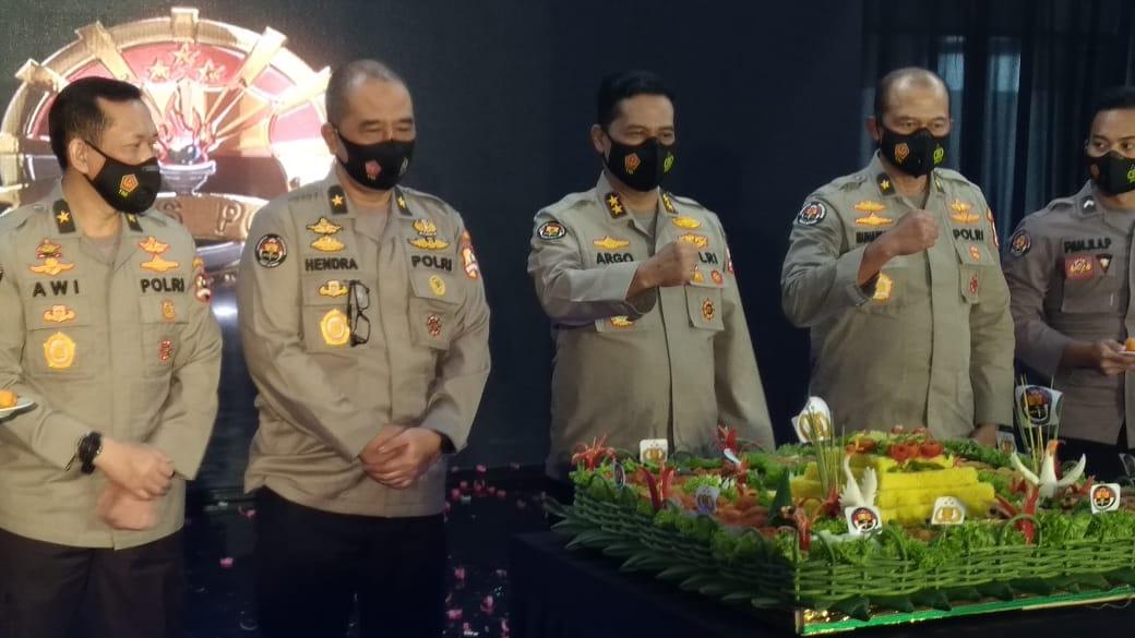 Dirgahayu Humas Polri Ke 69, Sekaligus Launching Tanda Korps Kesatuan Humas Polri