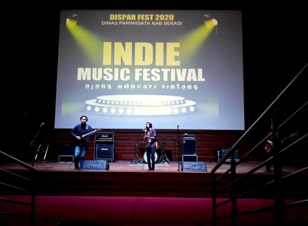 Dinas Pariwisata Kabupaten Bekasi telah Menggelar Festival Music dalam Rangka Mencari Bintang Music Band