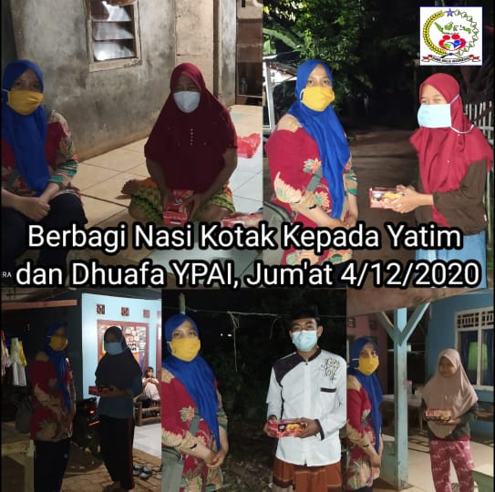 Santunan Rutin dan Doa Bersama Anak Yatim & Dhuafa,Serta Berbagi Nasi Kotak Setiap Jum'at Berkah