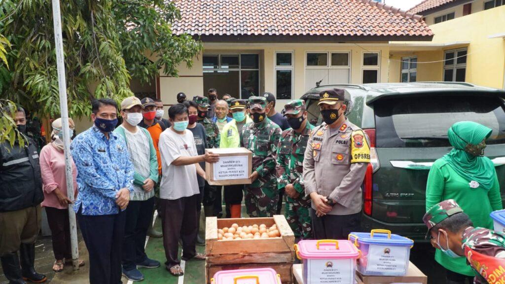 Tinjau Banjir Kota Pekalongan, Danrem 071/Wijayakusuma Minta Segera Lakukan Mitigasi Bencana Alam