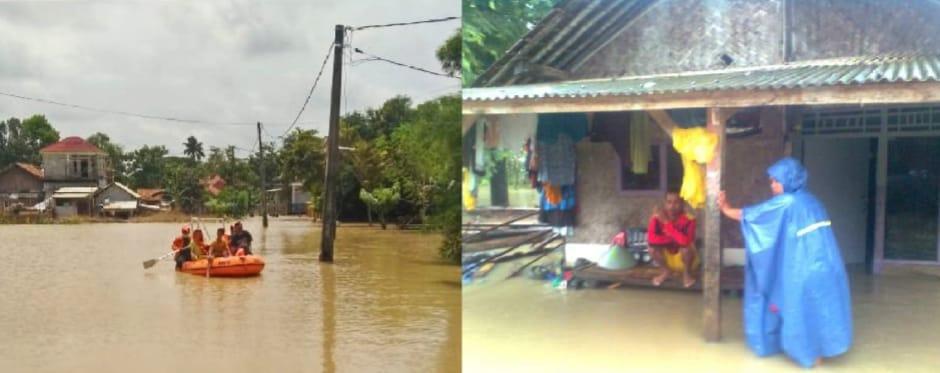 Dampak Luapan Sungai Cibeet, 1200 KK Warga Desa Labansari Cikarang Timur Butuh Bantuan Logistik