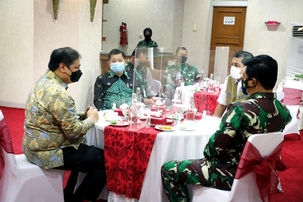 Menteri Suharso dalam Rapim TNI Menyampaikan 5 Prinsip Kesejahteraan Prajurit
