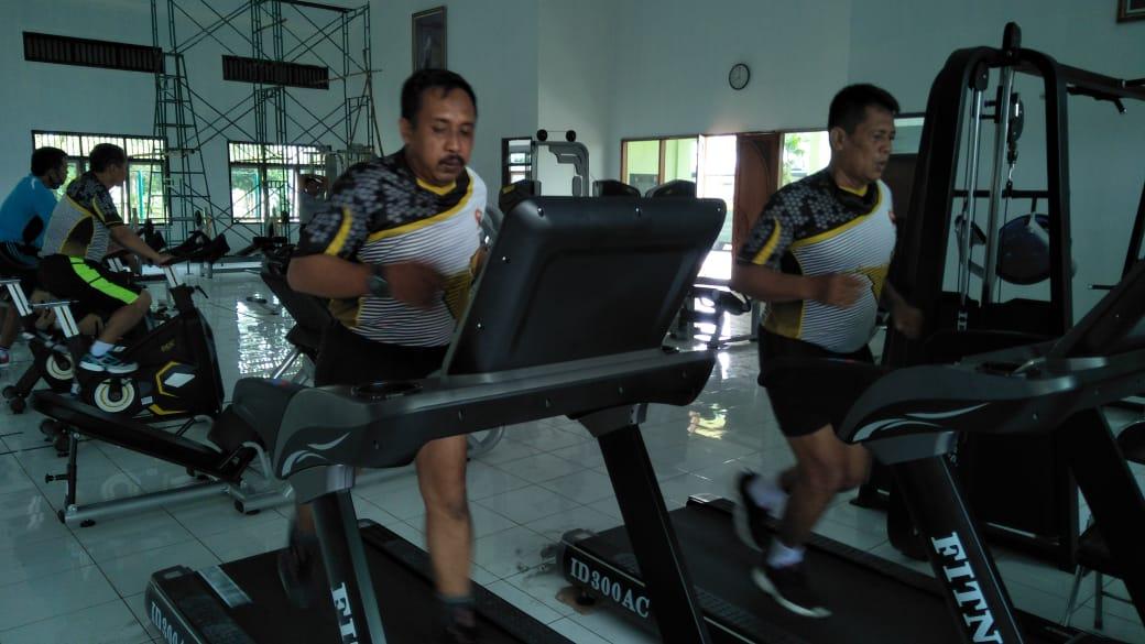 Satu Jam Sehat Bugar, Jaga Imunitas Prajurit Wijayakusuma