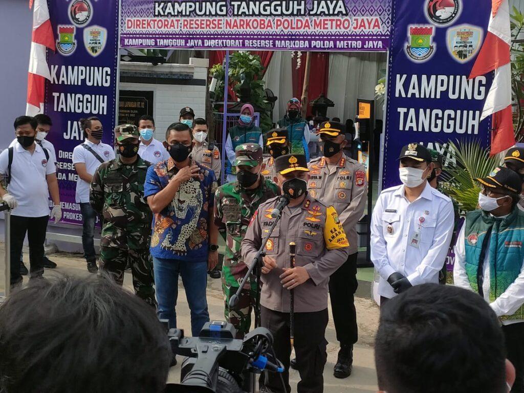 Kampung Tangguh Bojong Nangka Tangerang, Sediakan Ruang Isolasi Hingga Warga Bisa Testing Corona Mandiri