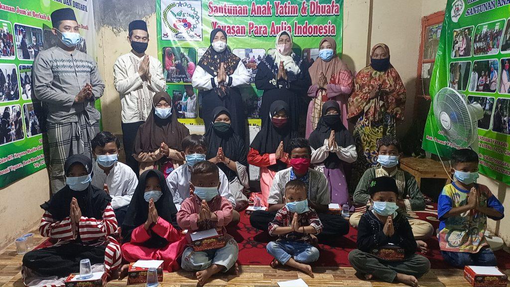 Santunan Pekanan Yayasan Para Aulia Indonesia, Ini Kegiatannya di Jum'at Berkah