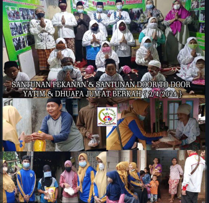Santunan Setiap Pekan Yayasan Para Aulia Indonesia, Ini Kegiatannya
