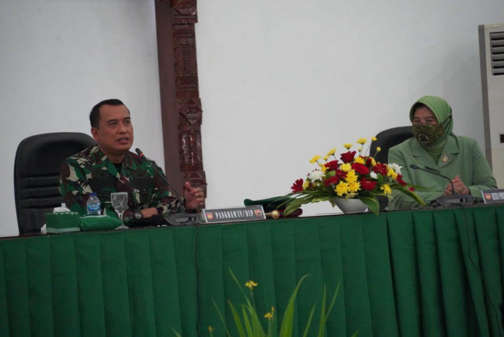 Ini Pesan Pangdam IV/Diponegoro Saat di Makorem 071/Wijayakusuma