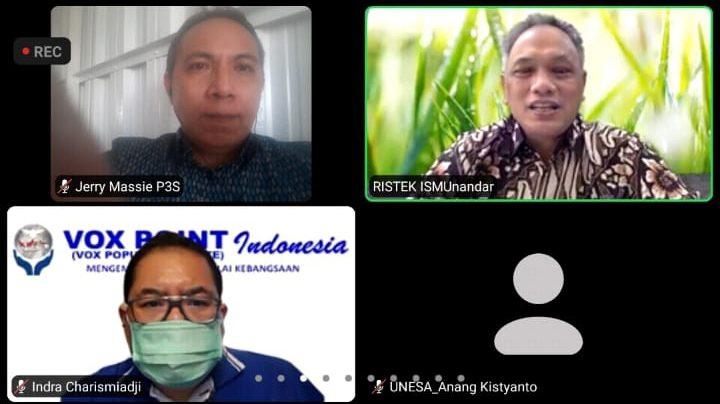 Bahas Kampus Indonesia Masuk Rangking Dunia, Sejumlah Pakar Tampil dalam Webinar P3S