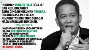 Anang Iskandar: Gratis Biaya Rehabilitasi Penyalahguna