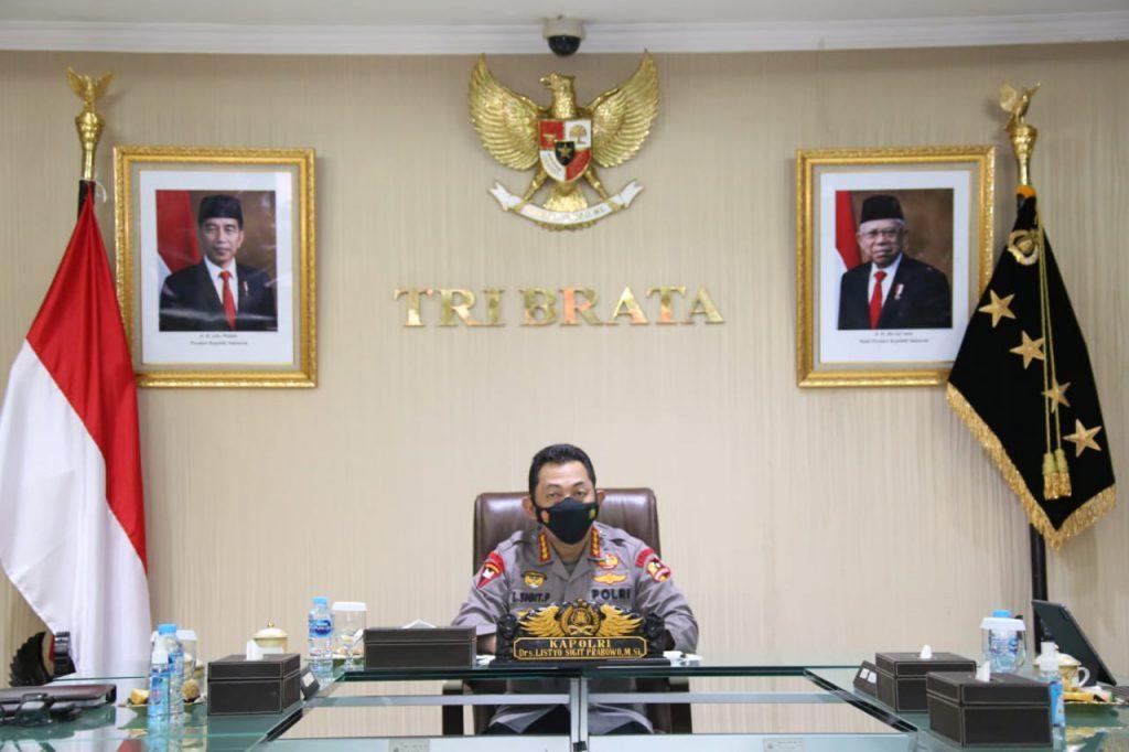 Pesan Kapolri ke-700 Capaja: Sinergitas TNI-Polri Harga Mati Wujudkan Indonesia Maju