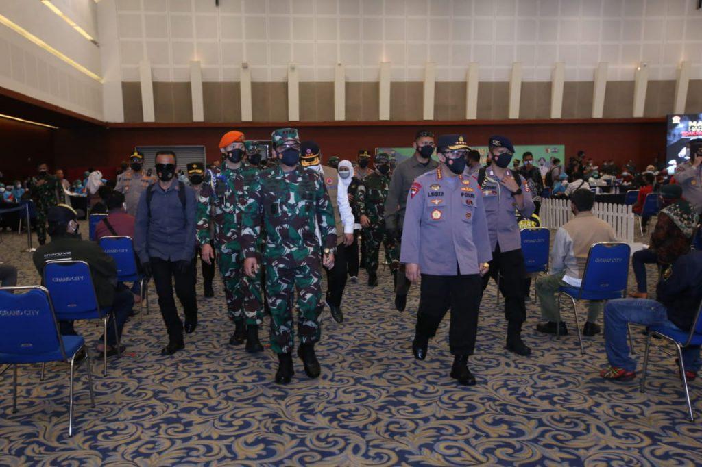 Kapolri: Akhir Agustus Warga Jawa Timur Terima Hadiah Herd Immunity