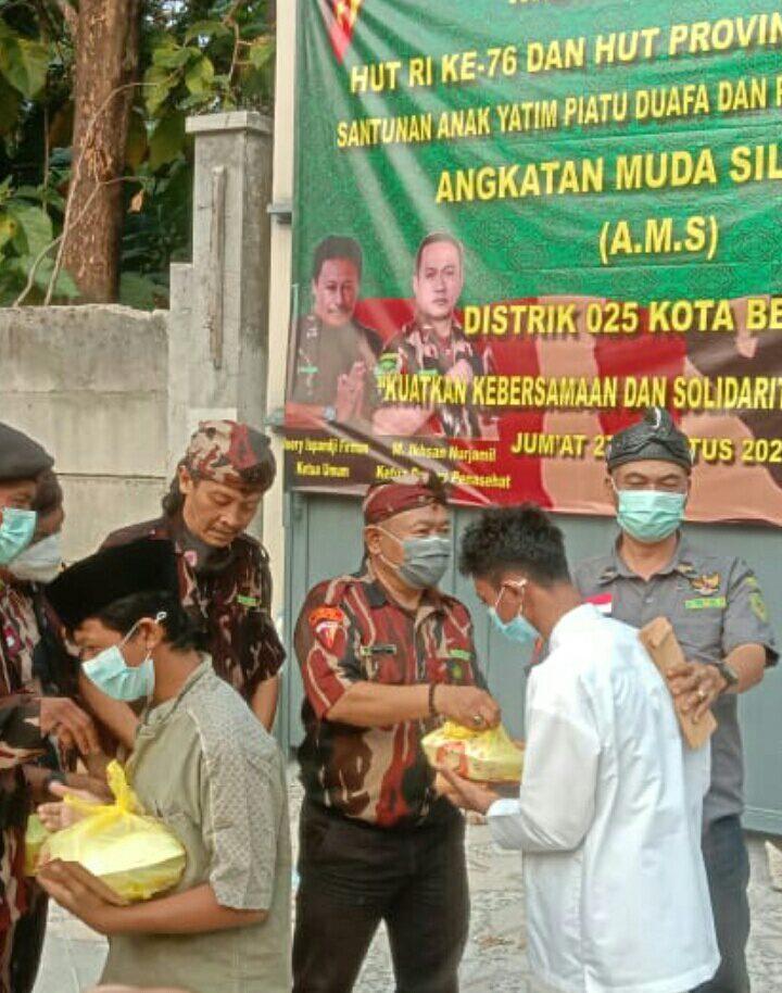 Distrik AMS 025 Kota Bekasi Santuni Yatim Piatu dan Kaum Duafa
